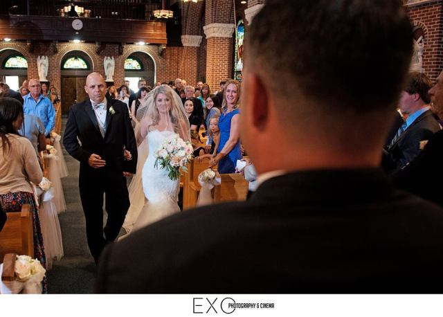 Walking down the aisle with my dad was such an amazing moment<3 This is one of my favorite pictures.